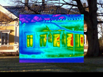 Sustainable Heritage, Instruments for Monitoring Old Structures, Thermal Image of Seminar House